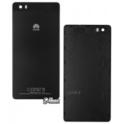Задняя панель корпуса для Huawei P8 Lite (ALE L21), черная