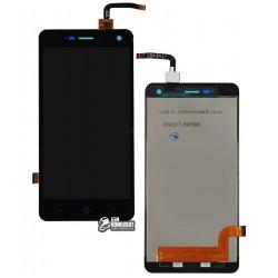 Дисплей для ZTE Blade L3, черный, с сенсорным экраном (дисплейный модуль)
