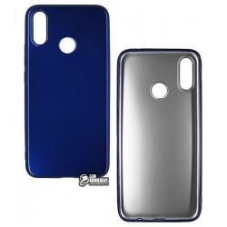 Чехол для Huawei P Smart Plus, T-PHOX CRYSTAL, силиконовый, глянцевый, голубой