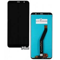 Дисплей для Meizu M6T, черный, с сенсорным экраном, Original (PRC)