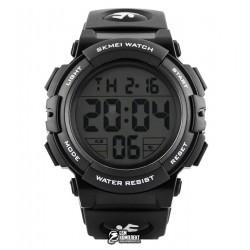 Мужские цифровые кварцевые часы Skmei 1258