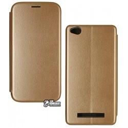 Чехол для Xiaomi Redmi 4A, Fashion, книжка, золото