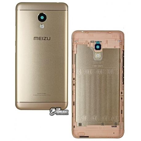 Задня кришка батареї для Meizu M3s, золотистая