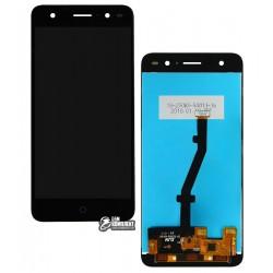 Дисплей для ZTE Blade V7 Lite, черный, с сенсорным экраном (дисплейный модуль), original (PRC)