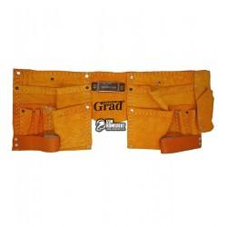 Пояс для инструмента Grad, кожаный на 11 карманов