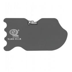 Карта металлическая, фигурная AIDA MY-900 для отделения дисплея от рамки, толщина 0.23 мм