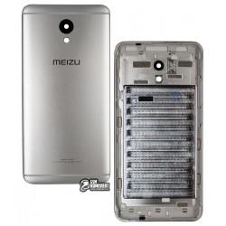 Задняя крышка батареи для Meizu M5 Note, серебристая