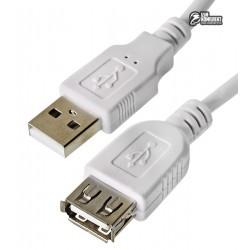 Кабель-удлинитель USB 2.0 - 0.8 м Atcom AM/AF