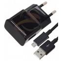 Зарядное устройство ETA-U90E Micro USB кабель, 1,5А