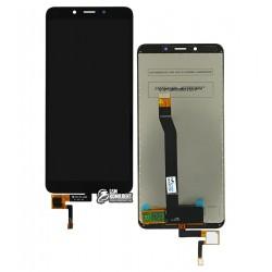 Дисплей для Xiaomi Redmi 6A, черный, с сенсорным экраном (дисплейный модуль), Original (PRC)