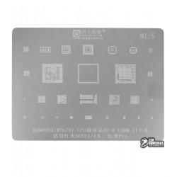 Трафарет Amaoe Xiaomi note4/4x pro msm8953 mt6797 MI5