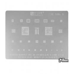 Трафарет Amaoe Samsung C7010 J610 MSM8916 MSM8953 C7 J3 j5 A5
