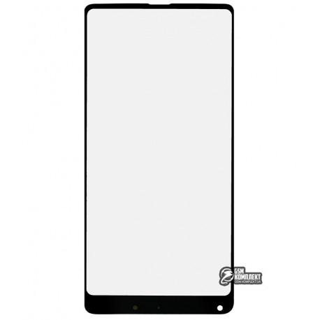 Стекло корпуса для Xiaomi Mi Mix 2, черное