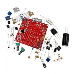KIT для сборки лабораторного блока питания, Uвх - 24В переменного тока, Uвых - до 30В постоянного тока, Iвых - max 3A