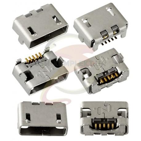 Коннектор зарядки для Sony Ericsson SK17, 5 pin, micro-USB тип-B