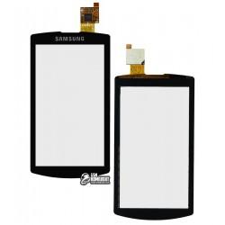 Тачскрин для Samsung I8910 Omnia HD, черный