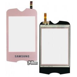Тачскрин для Samsung S3370, Розовый