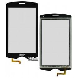 Сенсорный экран для Acer E200, черный