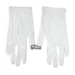 Антистатические перчатки AIDA нейлоновые с ПВХ микроточками