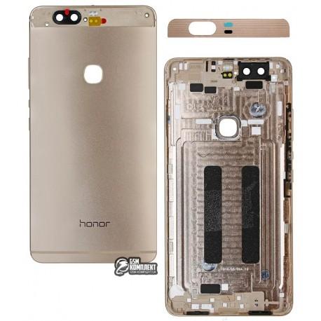 Задня кришка батареї для Huawei Honor V8, золотистая
