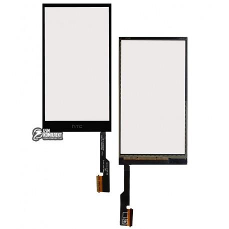 Тачскрін для HTC One M8, One M8 Dual SIM, One M8e, чорний