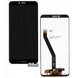 Дисплей для Huawei Y6 (2018), Y6 Prime (2018), черный, с сенсорным экраном, Original (PRC)