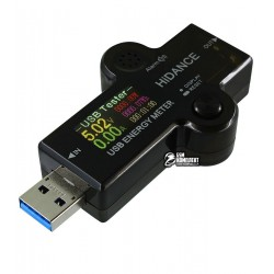 USB Тестер J7-H DC:3.6V-32V I:0A-5.1A, с поддержкой QC2.0, QC3.0, BC1.2, Apple Voltage Range