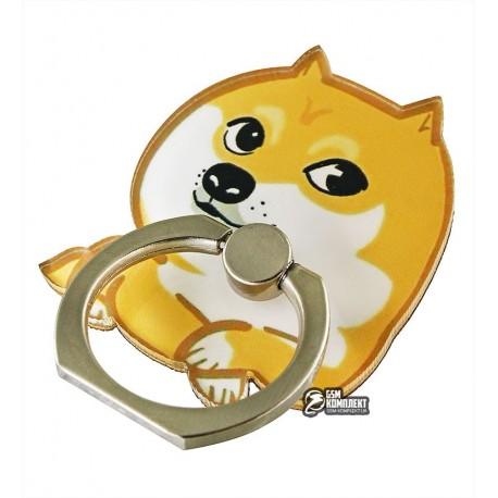 Кольцо-держатель для телефона, doge