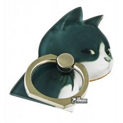 Кольцо-держатель для телефона, кот