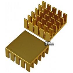 Радиатор алюминиевый для чипсета 22x22 x10 мм