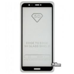 Закаленное защитное стекло для Huawei P Smart, 0,26 мм 9H, Full Glue
