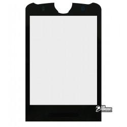 Стекло корпуса для Motorola Z3, черный
