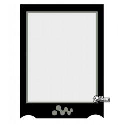 Стекло корпуса для Sony Ericsson W850, черный