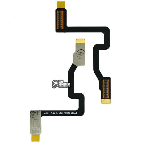Шлейф для Motorola K3, межплатный, с компонентами