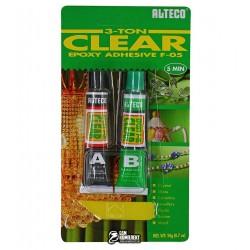 Клей эпоксидный Alteco 2-х компонентный, прозрачный, 2*10г