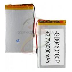 Аккумулятордлякитайского планшета универсальный,(3000mAh),(50*100*3.5мм)