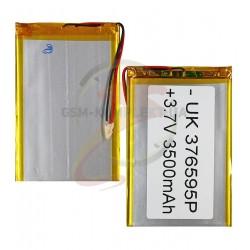 Аккумулятор универсальный, 90 мм, 65 мм, 3,5мм, Li-ion, 3,7 В, 3000 мАч