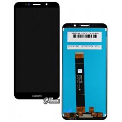 Дисплей для Huawei Y5 (2018), Y5 Prime (2018), черный, с сенсорным экраном, Original (PRC)
