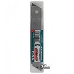 Лезвие для канцелярского ножа TOTAL THT519181 с отлам. сегментами, 18x100мм, 10шт.