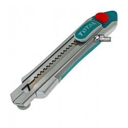 Нож TOTAL THT5121806 универсальный, лезвие 18x100мм, длинна 178 мм
