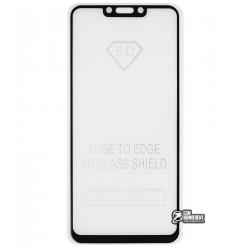 Закаленное защитное стекло для Huawei P Smart Plus, Nova 3i, 0,26 мм 9H, Full Glue, белое