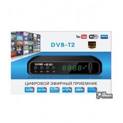 ТВ приставка T2 HL-115 Wi-Fi ready, Цифровой TV-тюнер