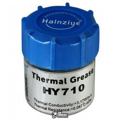 Термопаста HY710 Halnziye, серая, 10гр