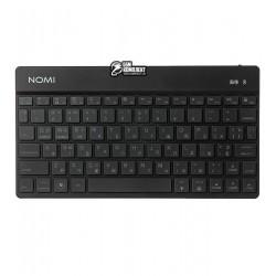 Клавиатура беспроводная Nomi KBB-302, черная