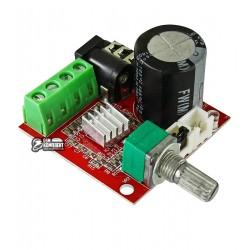Модуль усилителя PAM8610+ 2x15W с регулятором громкости