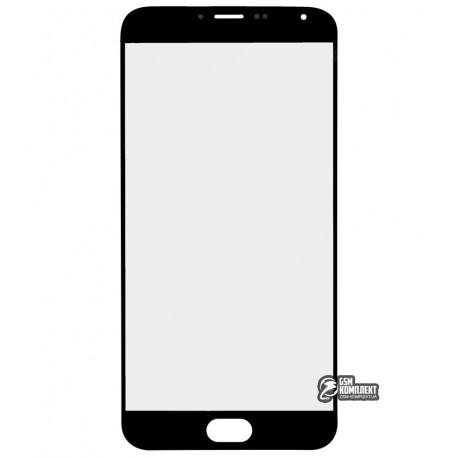 Скло корпусу для Meizu MX5e, чорне
