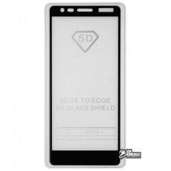 Закаленное защитное стекло для Nokia 3,1 (2018), 0,33 мм, 2.5D, 9H, Full Glue, черное