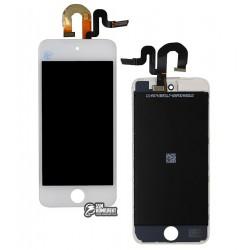 Дисплей для MP3-плеера Apple iPod Touch 5G, белый, с сенсорным экраном (дисплейный модуль)