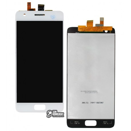 Дисплей для Lenovo Zuk Z2 (Z2131), белый, с сенсорным экраном