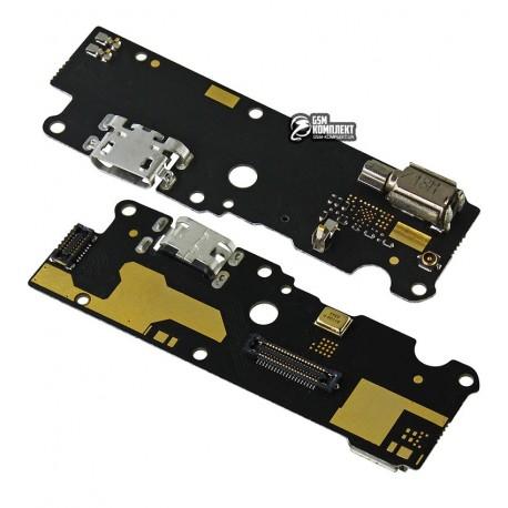 Шлейф для Lenovo P2 (P2a42), микрофона, коннектора зарядки, плата зарядки